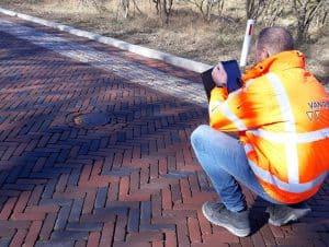 Infra-bouw-wegen-gebruiker-tablet