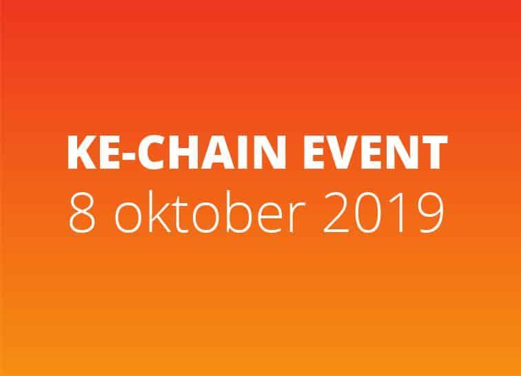 KE-chain even op 8 oktober 2019